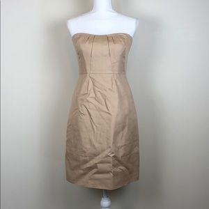 "J. Crew ""Erica"" Strapless Dress w/Pockets! Size 4"